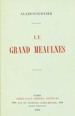 Image illustrative de l'article Le Grand Meaulnes