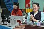 Le Thi Het receives support to boost her income from sewing. (6586868399).jpg