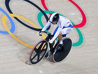 Lee Hye-jin - Lee Hye-jin at Rio 2016 Keirin