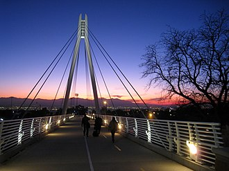 University of Utah Honors College - Image: Legacy Bridge. University of Utah IMG 1840