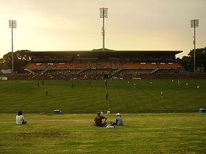 Leichhardt Oval at Dusk.JPG