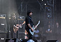 Lemmy Kilmister and Phil Campbell of Motörhead at Wacken Open Air 2013.jpg