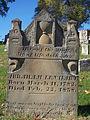 Lenhart (Abraham), Brush Creek Cemetery, 2015-10-26, 01.jpg