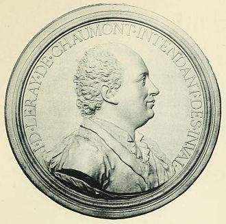 Jacques-Donatien Le Ray de Chaumont - Jacques-Donatien Le Ray de Chaumont by Jean-Baptiste Nini (1771), Château de Chaumont