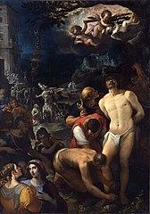 Les apprêts du martyre de saint Sébastien