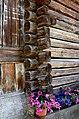 Lesachtal Sankt Lorenzen Bauernhaus Detail 12062014 483.jpg