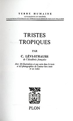 Image illustrative de l'article Tristes Tropiques