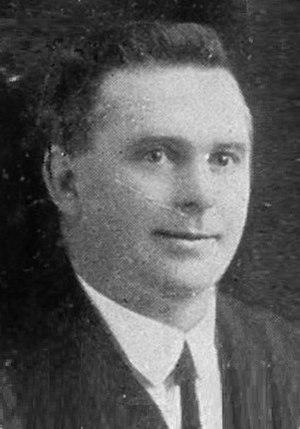 Patea by-election, 1921 - Image: Lewis Mc Ilvride
