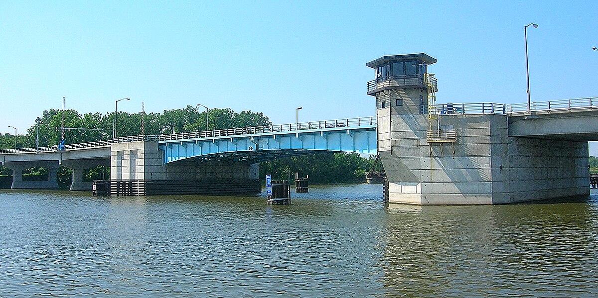 Liberty Bridge Bay City Michigan Wikipedia