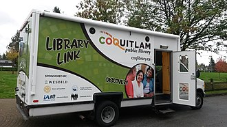 Coquitlam Public Library - Image: Library Link