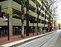 Library SW 9th Ave MAX station - Portland, Oregon.JPG