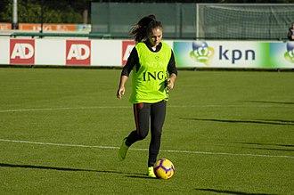 Lieke Martens - Lieke Martens training with the Netherlands on November 6, 2018.