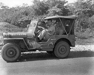 Peer de Silva - De Silva on Tinian in 1945