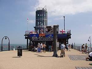 Southend-on-Sea Lifeboat Station - The lifeboat station at the end of Southend Pier.