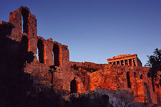 Golden age (metaphor) - Acropolis, rebuilt by Pericles during the Athenian Golden Age