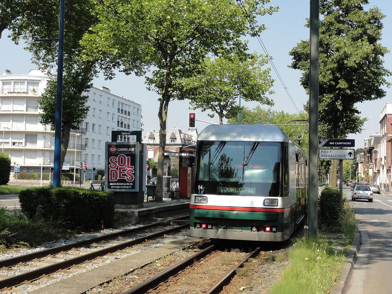 File Ligne T Du Tramway De Lille Roubaix Tourcoing 090 Jpg Wikimedia Commons