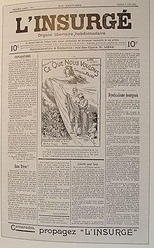 El insurgente, 6 de junio de 1903.