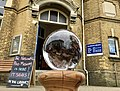 Lion Poo Sphere Outside Sandown Library.jpg