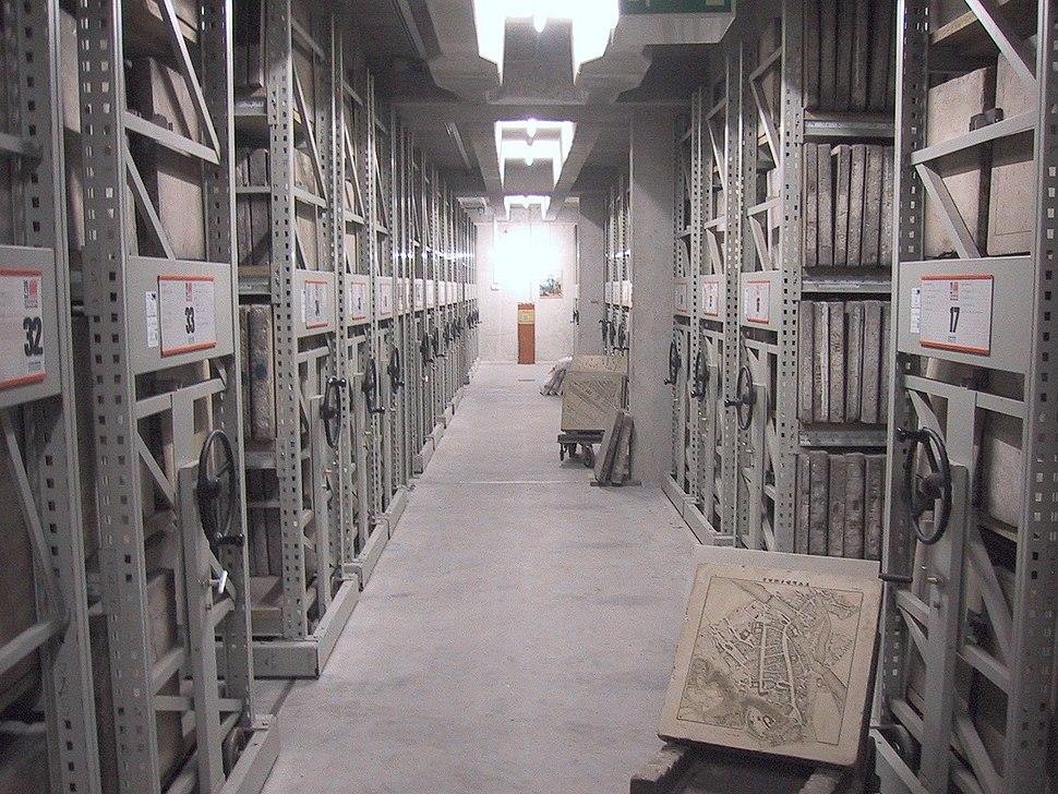 Litography archive of the Bayerisches Vermessungsamt