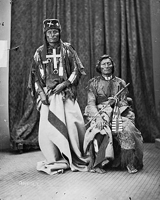 Morning Star (chief) - Little Coyote (Little Wolf) and Morning Star (Dull Knife), chiefs of the Northern Cheyenne