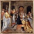 Livio agresti, storie eucaristiche e personaggi dell'antico testamento, san gregorio e la donna incredula, dal duomo di forlì.jpg