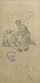 Lix F.T. - Graphite - Projet d'illustration en rapport avec l'Ecosse (roman, ou Histoire) - 15.5x23.5cm.jpg