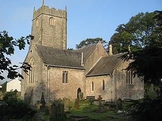 Church of St John the Baptist, Llanblethian Church in Wales, United Kingdom