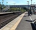 Llanharan railway station footbridge - geograph.org.uk - 4458994.jpg