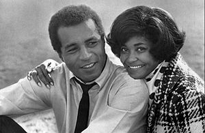 Nancy Wilson (jazz singer) - With Lloyd Haynes in a guest appearance on TV's Room 222 (1970)