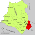 Localització de Fanzara respecte de l'Alt Millars.png