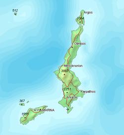 Karpathos – Travel guide at Wikivoyage
