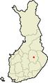 Location of Siilinjärvi in Finland.png