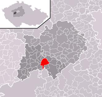 Lochovice - Image: Lochovice BE CZ