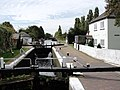 Lock on The Grand union Canal at Norwood Green Southall - panoramio.jpg