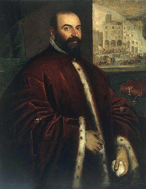 Podestà - Portrait of a Podestà by Lodewijk Toeput