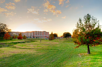 College Station, Texas - View of the Lofts at Wolf Pen Creek in College Station