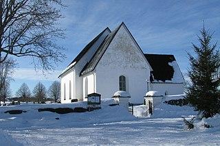 Lohärad Church church building in Norrtälje Municipality, Stockholm County, Sweden
