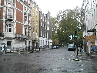 street in the City of Westminster
