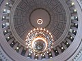 Looking up into Washington State capitol dome (15295222612).jpg