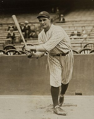 Lou Gehrig - Gehrig with the New York Yankees in 1923