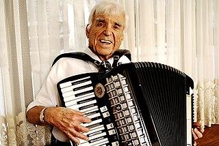 Louis Bashell American polka musician, 1914-2008