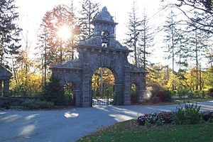 Lowell Cemetery - Gate, Lawrence Street