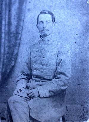 Warren Adams - Lieutenant Colonel Warren Adams, C.S.A.
