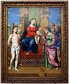 Luca longhi, sposalizio mistico di s. caterina tra i ss. sebastiano, girolamo, rocco e benedetto 01.jpg