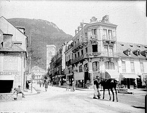 Bagnères-de-Luchon - View of Luchon in 1908 (Eugène Trutat)