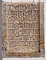 Ludmannsdorf Pfarrkirche Heiliger Jakob der Aeltere Inschrift 20110616 882.jpg