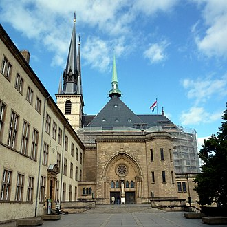 Notre-Dame Cathedral, Luxembourg - Our Lady of Luxembourg