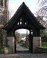 Lych Gate - Holy Trinity Church - Town Lane - Idle - geograph.org.uk - 612510.jpg