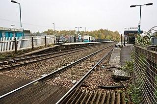 Lydney railway station Railway station in Gloucestershire, England