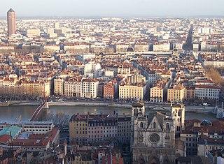 Panorama di Lione
